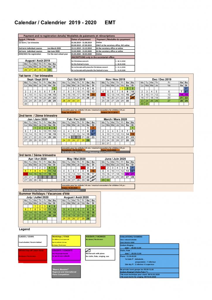 00 2019 2020 calendar Calendrier EMT FR ANGL - FINAL